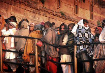 Pèlerins Hindu à l'occasion de la Kumbh Mela